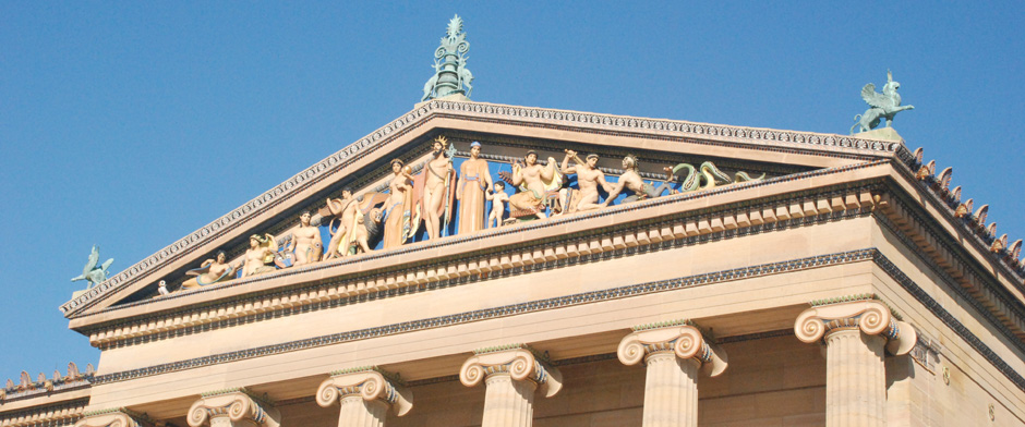 Philadelphia Museum of Art Pediment Frieze